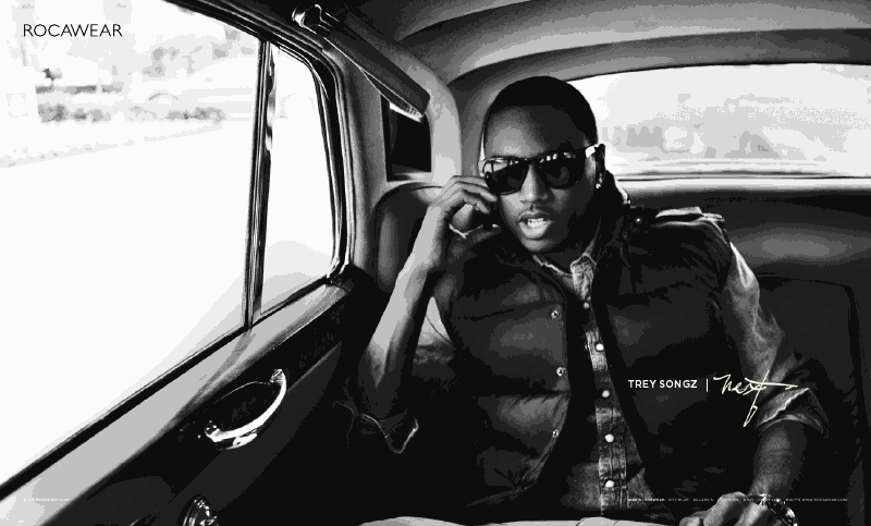 rock8 Hot Shots: Trey Songz & Melanie Fionas Rocawear Campaign