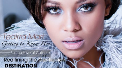 Hot Shot: Teairra Mari On The Cover of LOV