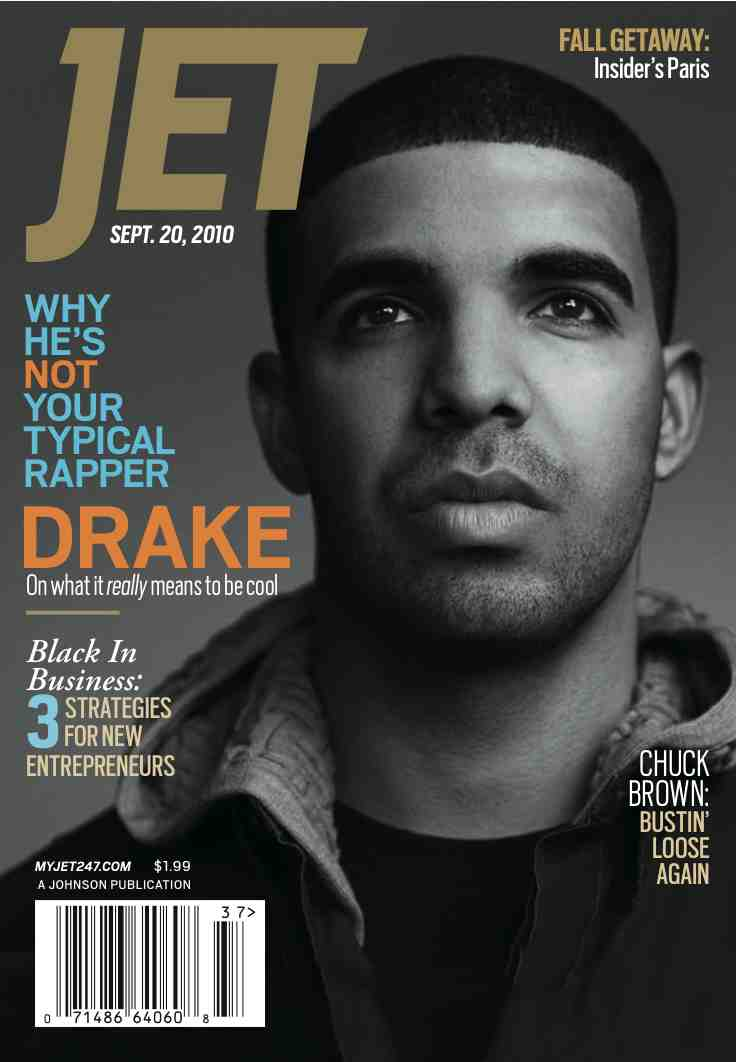 Drakejet Hot Shot: Drake Covers JET Magazine