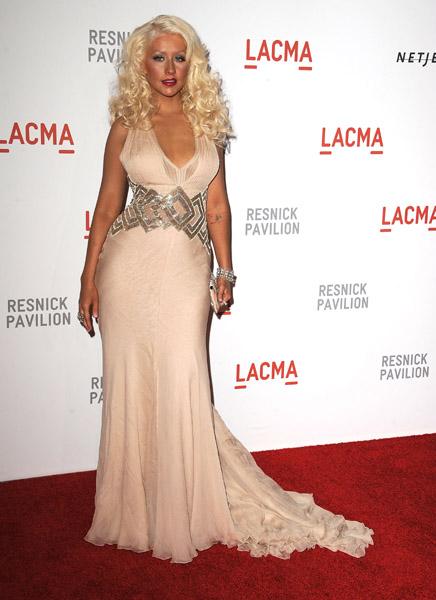 christinaa Hot Shot: Christina Aguilera In LA