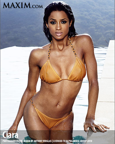 cimax2 Hot Shots: Ciara Brings The Heat In Maxim