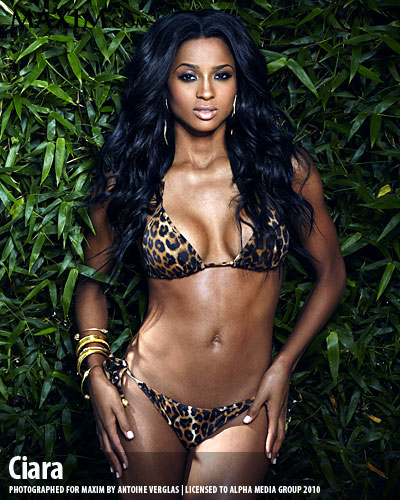 cimax3 Hot Shots: Ciara Brings The Heat In Maxim