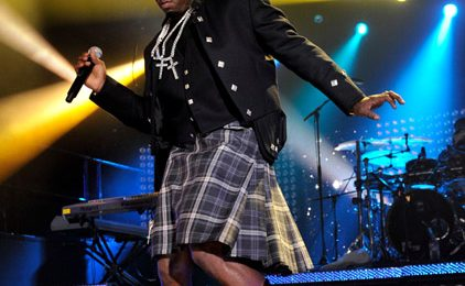 Hot Shot: Diddy In A Skirt