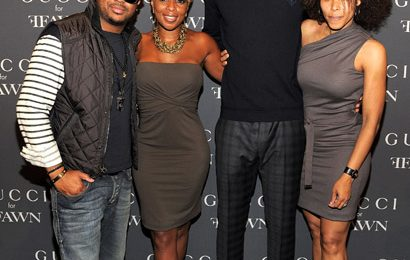 Hot Shot: Mary J. Blige & The-Dream In Gucci
