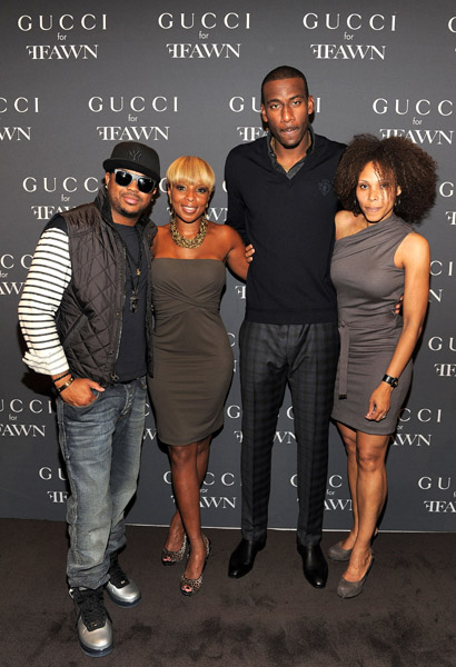 dreammary Hot Shot: Mary J. Blige & The Dream In Gucci