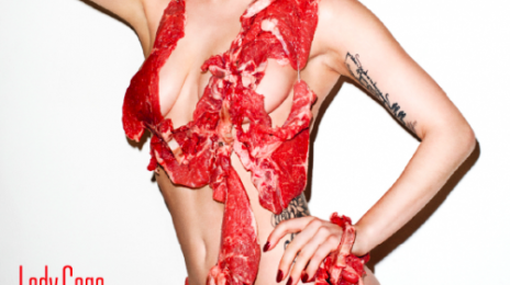Lady GaGa Does Vogue...Covered In Meat