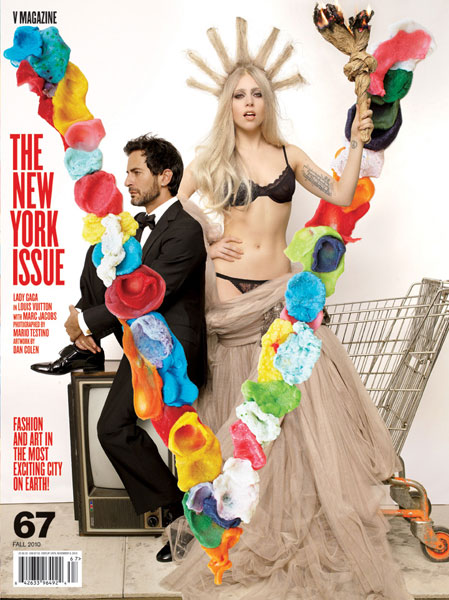 gagajacobs Hot Shot: Lady GaGa Covers V Magazine
