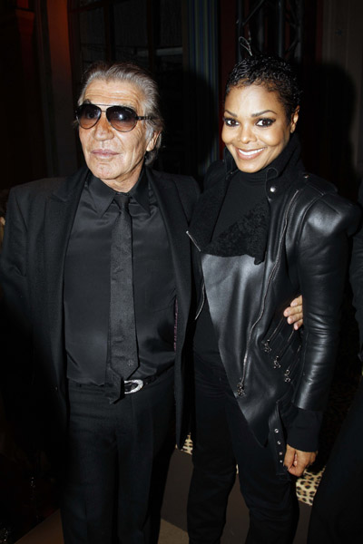 janet roberto Hot Shots: Janet & Wissam (New Man) At Cavalli Show