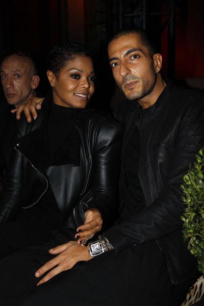 janet wissam 22 Hot Shots: Janet & Wissam (New Man) At Cavalli Show