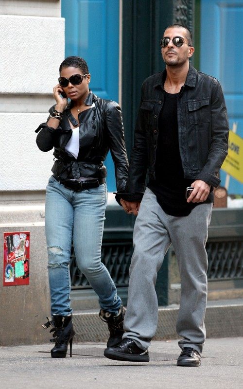 janetboyf Hot Shots: Janet Jackson & Boyfriend Spotted In NYC