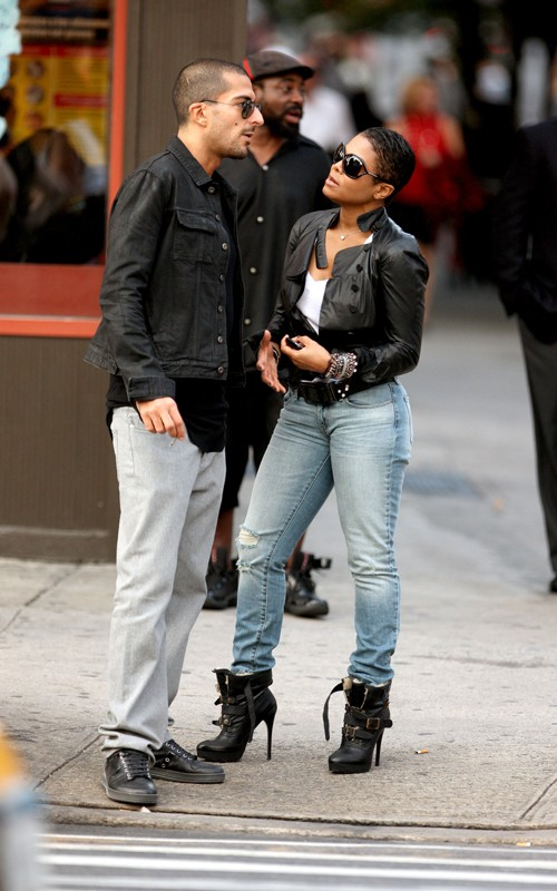 janetboyf3 Hot Shots: Janet Jackson & Boyfriend Spotted In NYC