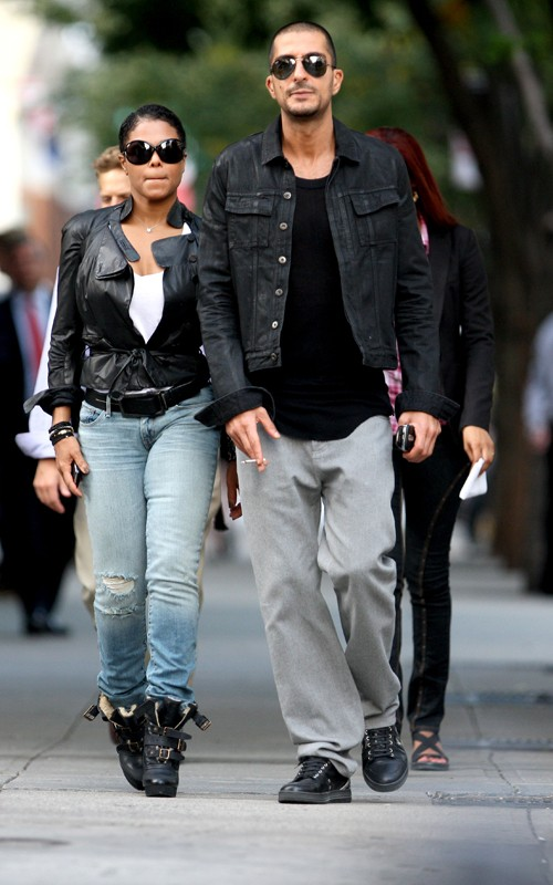 janetboyf4 Hot Shots: Janet Jackson & Boyfriend Spotted In NYC