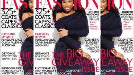 Jennifer Hudson Covers 'Fashion' Magazine