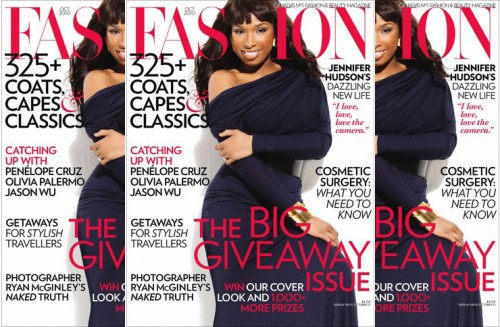 jhuuud2 e1284113548384 Jennifer Hudson Covers Fashion Magazine