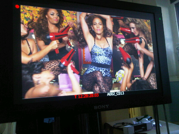 jlo2 Hot Shots: On The Set Of Jennifer Lopezs New Video