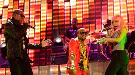 Kanye West, Nicki Minaj, Jay-Z & Beyonce Rock The Yankee Stadium