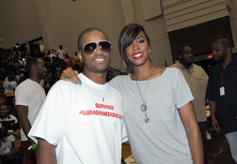 kel4 Hot Shots: Chris Brown, Kelly Rowland & More LudaDay Basketball Event