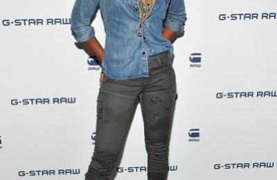 Hot Shots: Kelly Rowland At G-Star Fashion Show