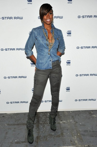 kelly gstar e1284587137897 Hot Shots: Kelly Rowland At G Star Fashion Show