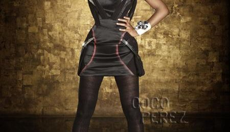 Hot Shots: Kelly Rowland Beams At Samsung Launch