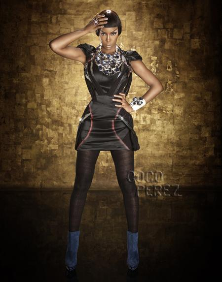 kelly rowland 5 Hot Shots: Kelly Rowland Gets Fierce For YRB