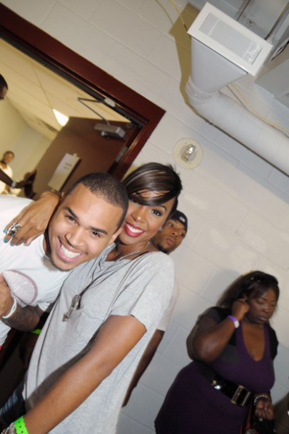 kelly67 e1283815798523 Hot Shots: Chris Brown, Kelly Rowland & More LudaDay Basketball Event