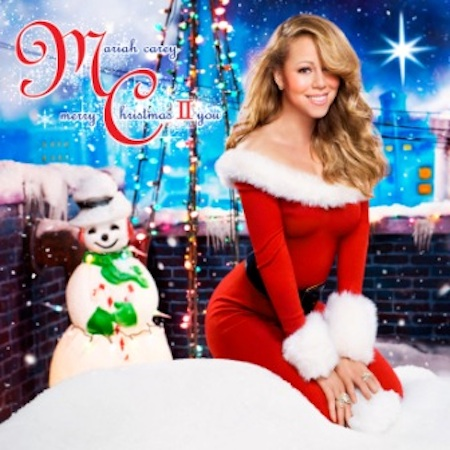 mariah carey merry christmas Mariah Carey Unwraps Merry Christmas II You Cover + More