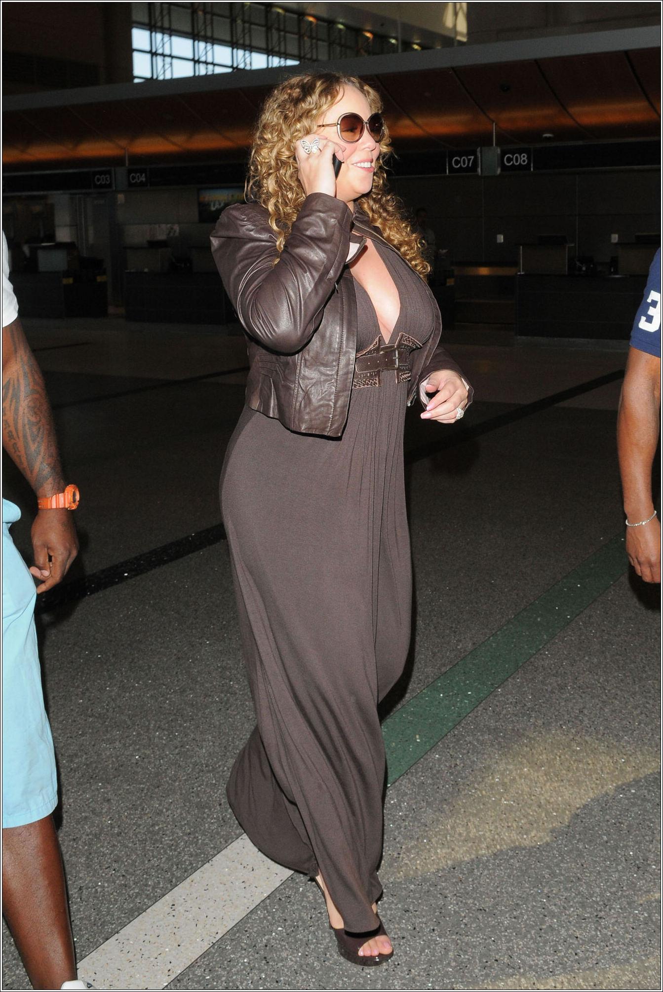 mariah Hot Shots: Mariah Carey At LAX