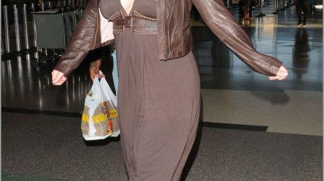 Hot Shots: Mariah Carey At LAX