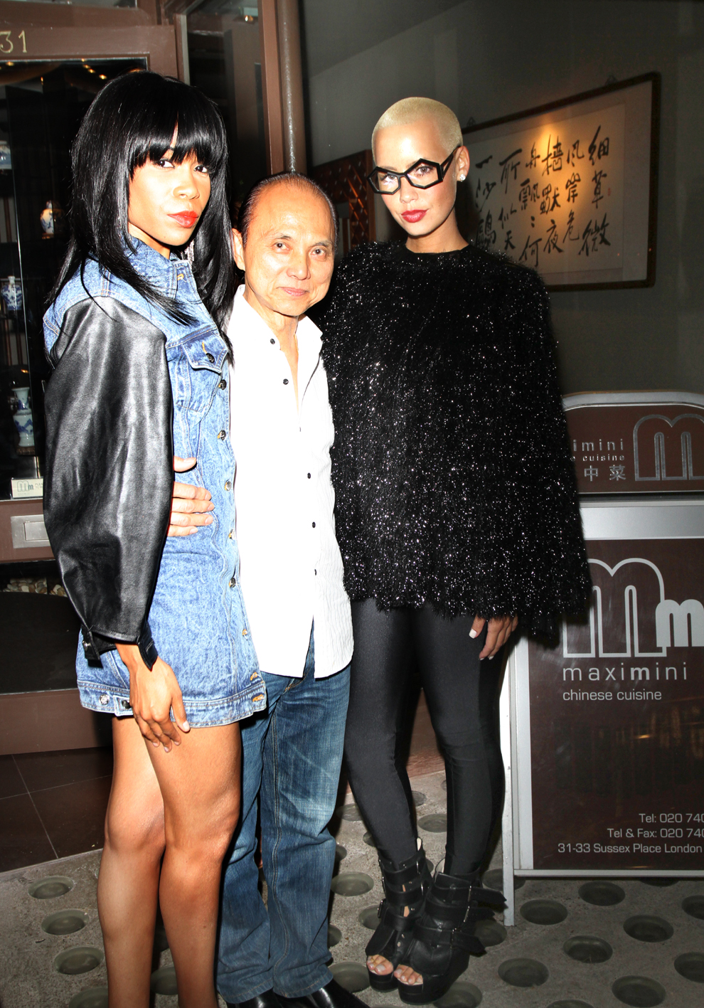 michelle amber Hot Shots: Michelle Williams Dines With Jimmy Choo & Amber Rose