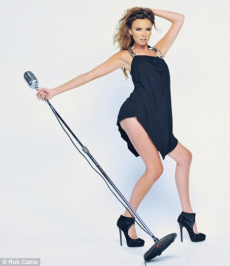 nadinecoyle1 Hot Shots: Nadine Coyles Insatiable Video Shoot