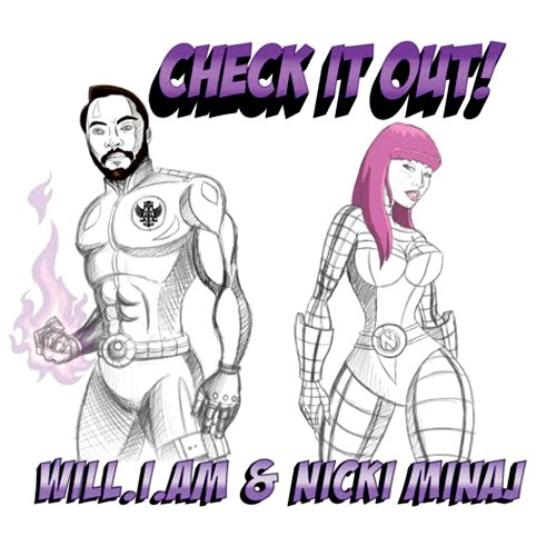 nicki check it out New Video: Nicki Minaj   Check It Out (ft. will.i.am)