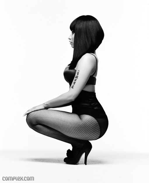 nickicomplex5 Hot Shots: Nicki Minaj Does Complex Magazine