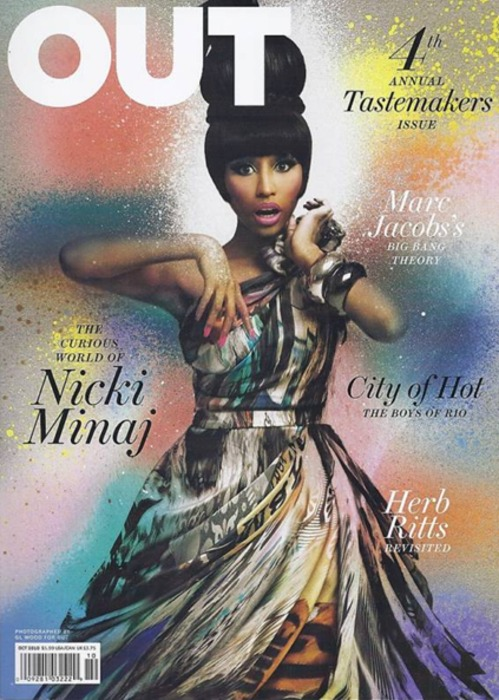 nickiout Hot Shot: Nicki Minaj On The Cover Of Out