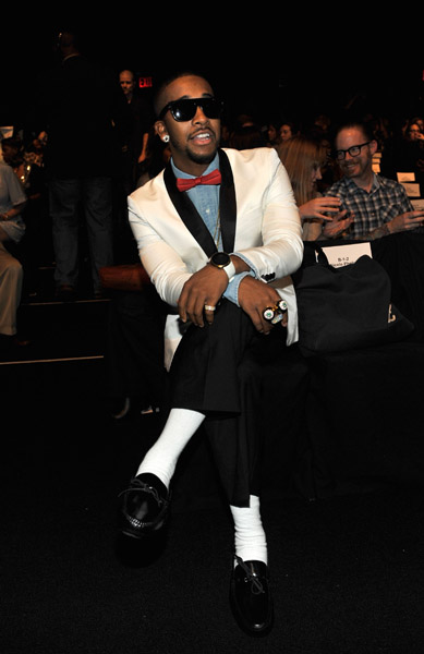 omarion 13a Hot Shots: Omarion Does Fashion Week