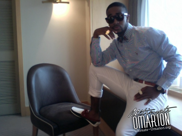 omarion 234 Hot Shots: More Omarion Fashion Week Snaps