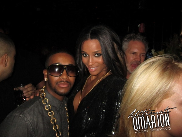 omarion ciara Hot Shots: More Omarion Fashion Week Snaps