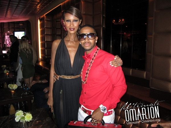 omarion iman Hot Shots: More Omarion Fashion Week Snaps