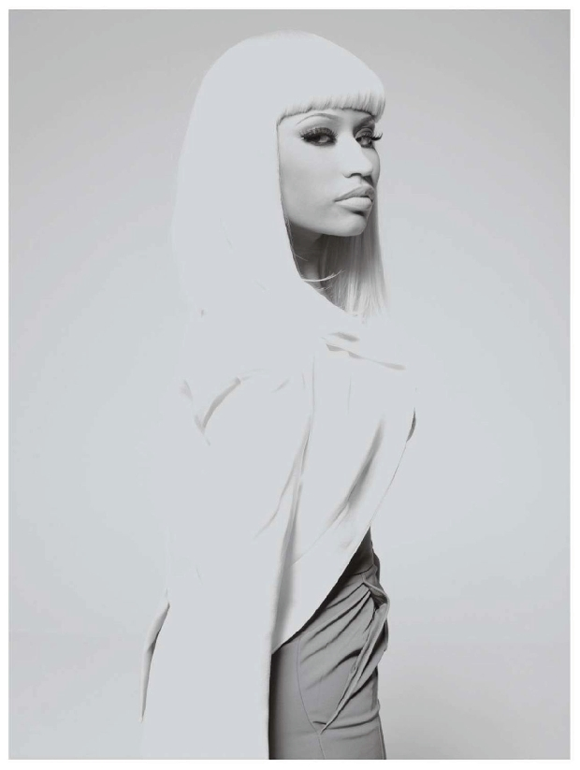 papernicki Hot Shot: Nicki Minaj Does Paper Magazine