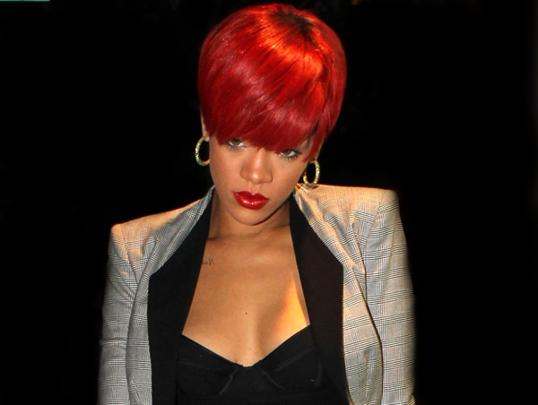 rihred Rihannas Label Upset By Whos That Chick Leak