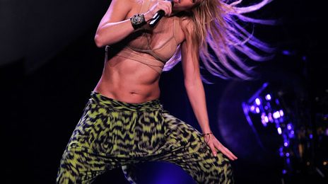 Hot Shots: Shakira Performs In MSG
