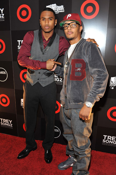 treytip Hot Shot: T.I Helps Trey Songz Celebrate Album Release