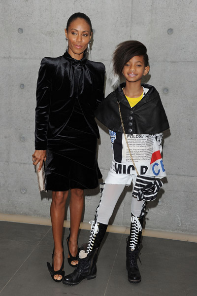 willow smith 1 Hot Shots: Willow Smith At Armani Fashion Show