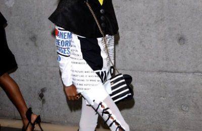 Hot Shots: Willow Smith At Armani Fashion Show