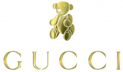 GUCCI Teddy Bear logo 500x292 Jennifer Lopez & Kids Pose For Gucci