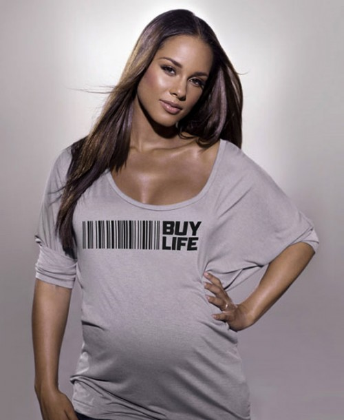 alicia buy life e1286015479676 Alicia Keys Gives Birth To Baby Boy