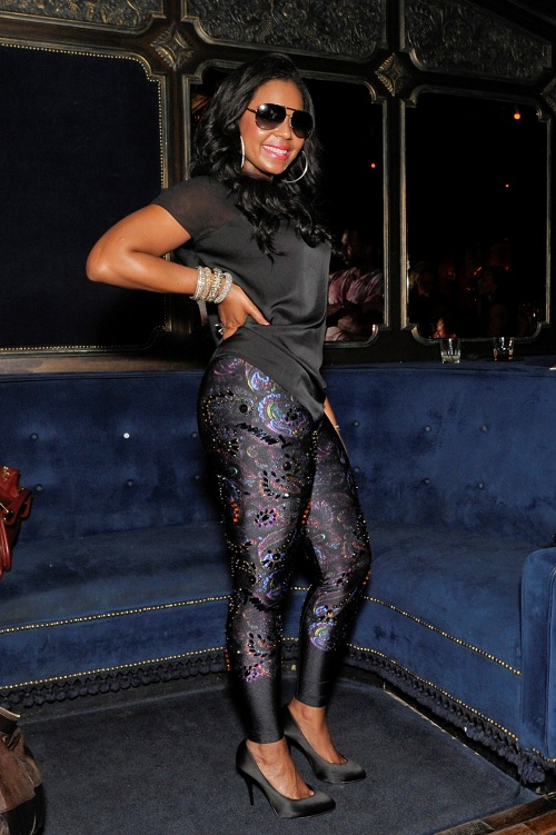 ashanti Hot Shot: Ashanti Attends Nellys Listening Party
