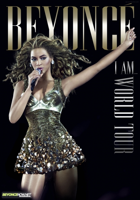 beyonce cover33 Beyonce Unveils I Am...World Tour DVD Cover
