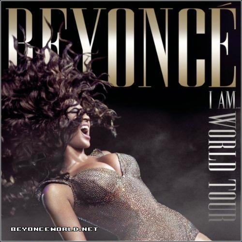 beyonce2 Beyonce Reveals I Am...World Tour Album Cover
