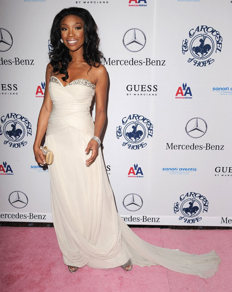 brandy 43 Hot Shots: Stars Come Out For Carousel Gala